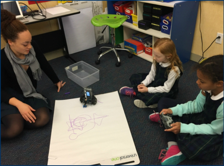 Upper School Girls Design Toy Robots For Their Grade 3 Clients